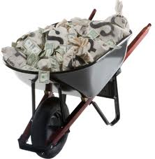 Money Wheelbarrow