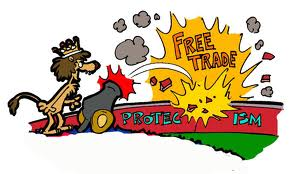 Free Trade Cartoon